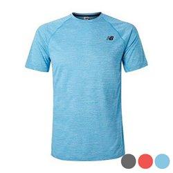 New Balance T-shirt à manches courtes homme TENACITY Bleu L