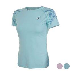 Asics T-shirt à manches courtes femme Stripe SS Top S