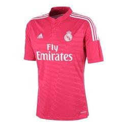 Maglia da Calcio a Maniche Corte Uomo Adidas Real Madrid Rosa (2ª) (Taglia l - us)