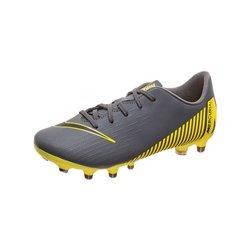 Scarpe da Calcio Multitacchetti per Bambini Nike JR Vapor 12 Club Grigio 37,5