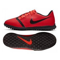 Scarpe da Calcio per Bambini Nike JR Phantom Venom Club TF Rosso 35,5