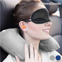 InnovaGoods Travel Relaxation Kit Grey