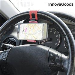 Suporte de Telemóveis para Volantes de Carro InnovaGoods