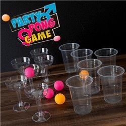 Gioco di Abilità Party Pong 18 Pezzi