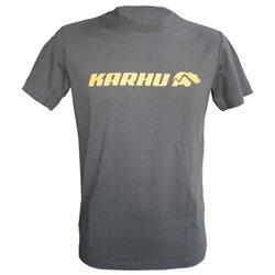 Karhu Men's Short Sleeve T-Shirt T-PROMO 2 Grey (Size s)