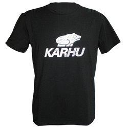 Karhu Herren Kurzarm-T-Shirt T-PROMO 1 Schwarz (Größe s)