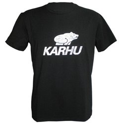 Karhu Men's Short Sleeve T-Shirt T-PROMO 1 Black (Size s)