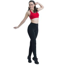 Leggings Sportivo da Donna Happy Dance 5006 Vita alta S