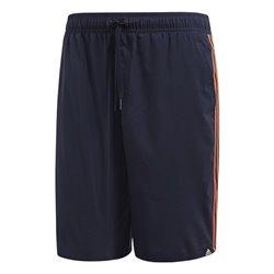 Costume da Bagno Uomo Adidas 3S SH CL S Nero/Arancione