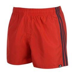 Costume da Bagno Uomo Adidas 3S SH VSL Rosso L