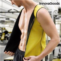 Gilet de Sport avec Effet Sauna pour Homme InnovaGoods XL