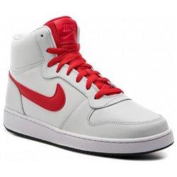 Scarpe da Basket per Adulti Nike Ebernon Mid Bianco Rosso 44,5