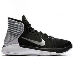 Scarpe da Basket per Adulti Nike Prime Hype DF 2016 Nero Argentato 9