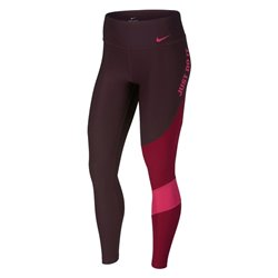 Nike Sport leggings for Women TGHT HBR FA Team Burgundy (Size l)