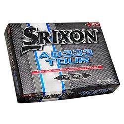 Pallina da Golf Srixon AD333 Tour Bianco (12 Uds)