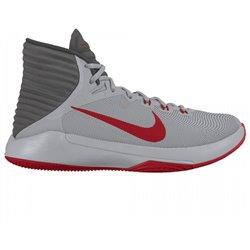 Scarpe da Basket per Adulti Nike Prime Hype DF Grigio Rosso 9