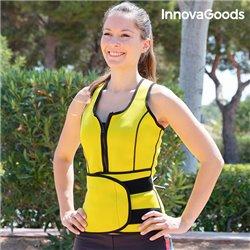 InnovaGoods Sauna Waist Training Vest L