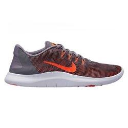 Scarpe da Running per Adulti Nike Flex 2018 RN 40 Grigio/Arancione