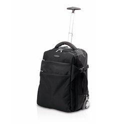 Trolley with Laptop Compartment (36 x 47 x 25 cm) 143488 Black