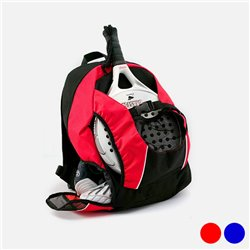 Multipurpose Rucksack with Shoe holder 143036 Red