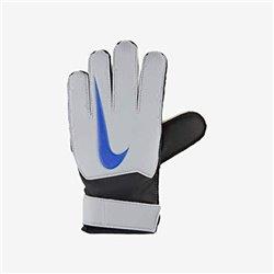Guanti da Portiere per Bambini Nike GK Match JR FA18 Bianco Azzurro 4