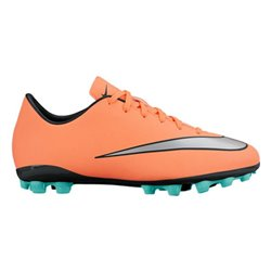 Scarpe da Calcio per Bambini Nike JR Mercurial Victory V AG Arancio 38.5 (EU) - 6Y (US)