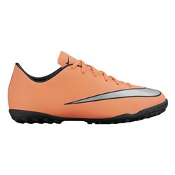 Scarpe da Calcio Multitacchetti per Bambini Nike JR Mercurial Victory V TF Arancio 37.5 (EU) - 5Y (US)