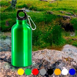Aluminium-Trinkflasche (400 ml) 143384 Grün