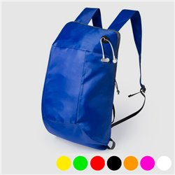 Foldable Rucksack with Headphone Output 145567 Red