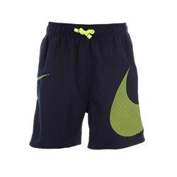 Costume da Bagno per Bambini Nike 4 Volley Short Verde Nero L
