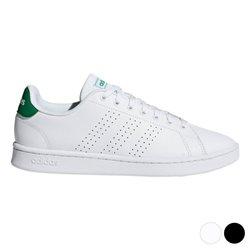 Scarpe da Tennis Casual Uomo Adidas Advantage Nero 44 2/3