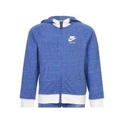 Felpa con Cappuccio Bambino Nike 842-B9A Azzurro Bianco Taglia - 6-7 Anni