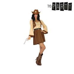 Costume per Adulti Cowboy donna XL