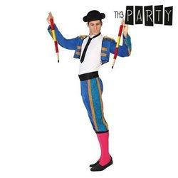 Costume per Adulti Torero Azzurro (6 Pcs) XL