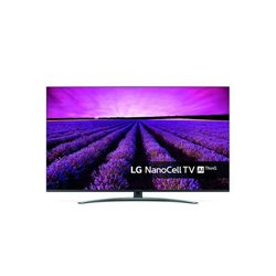 LG SM8200PLA 124,5 cm (49) 4K Ultra HD Smart TV Wi-Fi Nero, Argento 49SM8200PLA