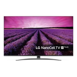 LG SM8200PLA 165,1 cm (65) 4K Ultra HD Smart TV Wifi Noir, Argent 65SM8200PLA