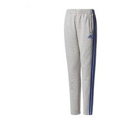 Pantalone di Tuta per Bambini Adidas YB 3S BR Grigio 10-12 Anni