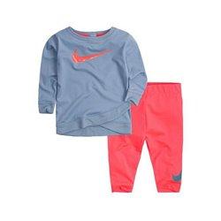 Tuta da Bambini Nike 669S-A5C Azzurro Rosa Taglia - 4-5 Anni