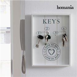 Cuadro Organizador de Llaves I Love My Home by Homania