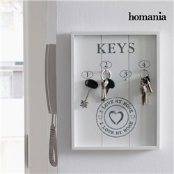Quadro Organizador de Chaves I Love My Home by Homania