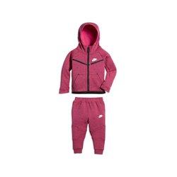 Tuta per Neonati Nike 400-A3D Fucsia Nero 18-24 Mesi