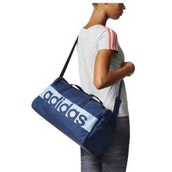 Borsa da Palestra Adidas Lin Per TB S Azzurro