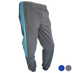 Pantalone di Tuta per Bambini Adidas YB CHAL KN PA C Grigio 10-12 Anni
