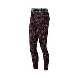 Leggings Sportivo da Donna New Balance WP81136 BM Multicolore M