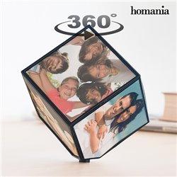 Moldura para Fotos Rotativa em Cubo