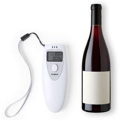 Alcoolímetro digital 145287 Branco