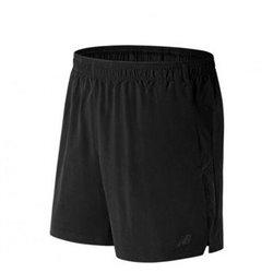 Pantaloni Corti Sportivi da Uomo New Balance 2IN1 Nero M