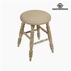 Mirelle wooden stool by Craftenwood