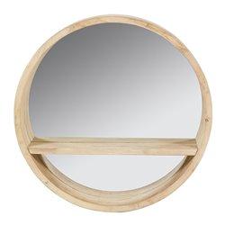 Specchio Rotund Legno di abete 45 x 10 x 45 cm