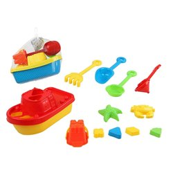 Beach toys set 117670 (12 pcs)